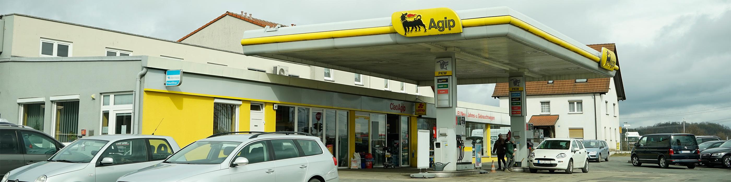 Autohaus Leikeim Marktzeuln Agip Tankstelle