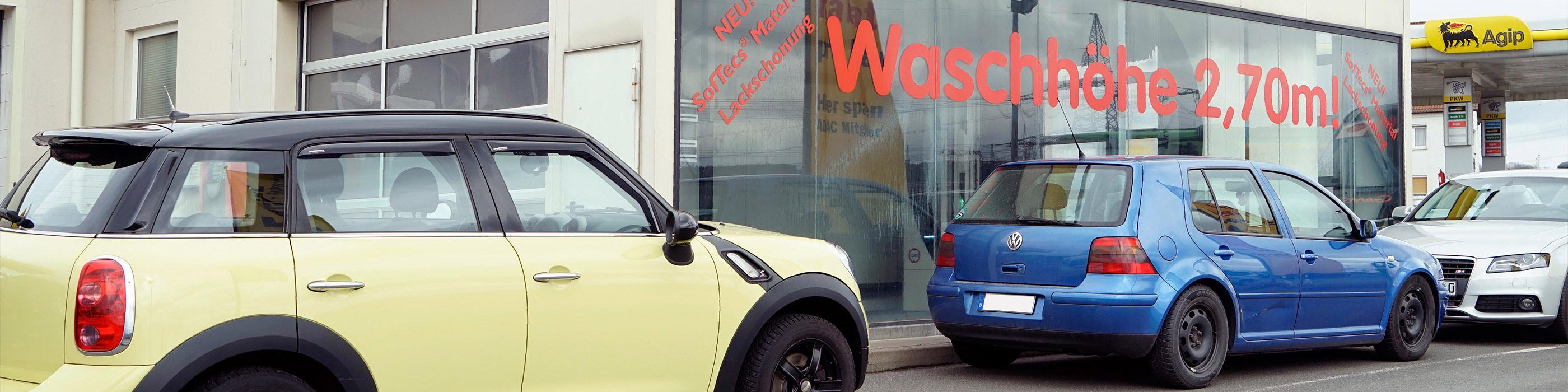 Autohaus Leikeim Marktzeuln Agip Tankstelle Waschanlage - Front