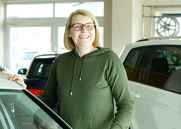 Autohaus Leikeim Mitarbeiter Marion Wolters