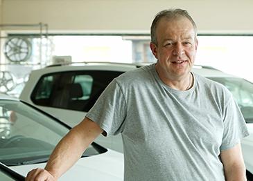 Gerald Säum, Autohaus Leikeim Mitarbeiter