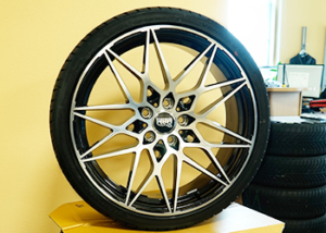 Felge MAM S1 und Reifen Duraturn Mozzo Sport